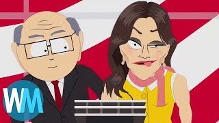 Another Top 10 South Park Celebrity Impersonations
