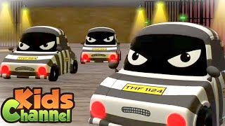 We are the Thief Family | Road Rangers Cartoon Videos for Children - Kids Channel