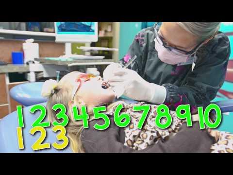 Lydia's First Dental Exam at Sea of Smiles Pediatric Dentistry
