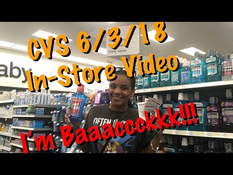 CVS 6/3/18 In-Store Couponing Haul ~ Quick & Easy!!!