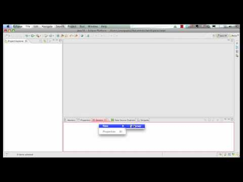 Getting Started with GlassFish in Eclipse: Java EE 6 & GlassFish 3 using Eclipse (Part 1 of 5)
