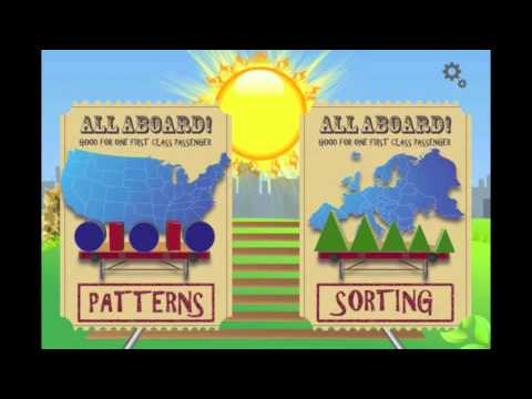Caboose - Learn Patterns and Sorting with Letters, Numbers, Shapes and Colors