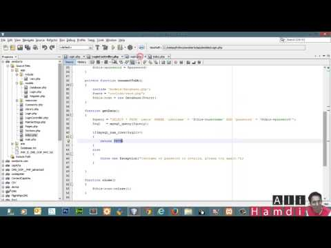 9 PHP MySQL OOP MVC Login Controller