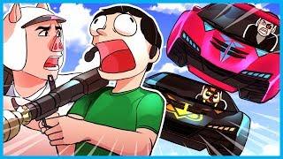 GTA 5 Online Funny Moments! - CARS vs. RPGs!! (GTA V Custom Game Mode Fun & Fails!)