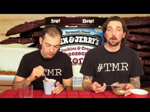 Ben & Jerry's Cookies & Cream Cheesecake Core Ice Cream - Ep. 809 #TMR