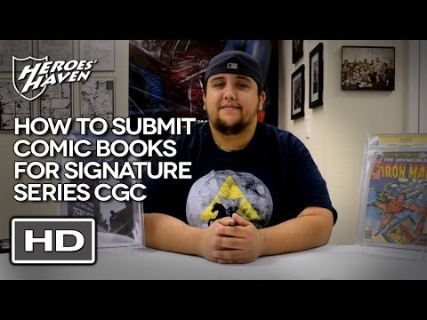 How to Submit Comic Books for CGC Signature Series - Heroes Haven Comics