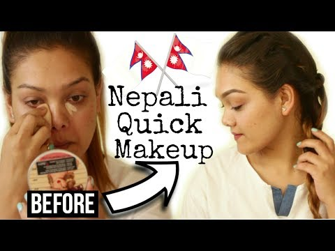 EVERYDAY MAKEUP TUTORIAL || NEPALI YOUTUBER ||QUICK AND EASY || Elegant rosy