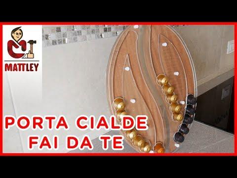 Porta capsule caffè in legno   Progetto fai da te e bricolage   Lavorazione del legno e stampa 3D