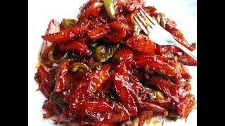 अंगुलियाँ चाटने को मजबूर कर देगा ये चिल्ली पोटेटो-Chilli Potato-Chilli Potato Recipe-Chinese Dishes