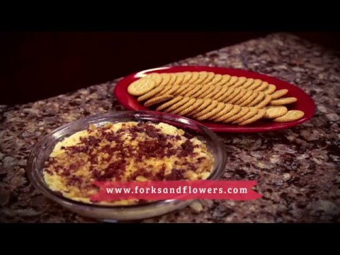 Forks & Flowers - Cheese Dip