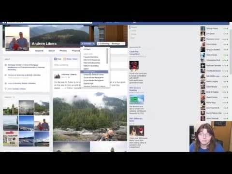 How to control who sees your posts on Facebook-Sorting Your Friends List
