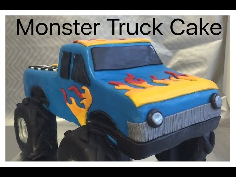 How to make a Monster Truck Cake