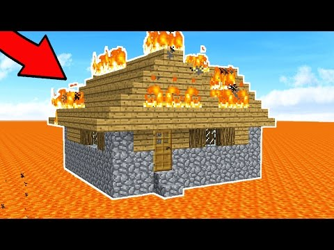 CAN YOU ESCAPE THIS MINECRAFT HOUSE!?