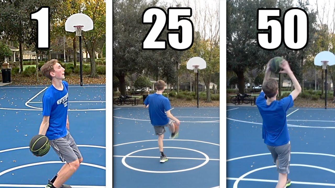 50 Ways to Score a Half Court Shot