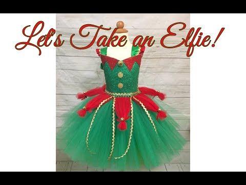 Elf Tutu Dress DIY | Holiday Tutu Dress Tutorial