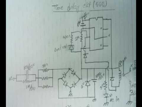 Time delay ckt for Voltage Stabilizer