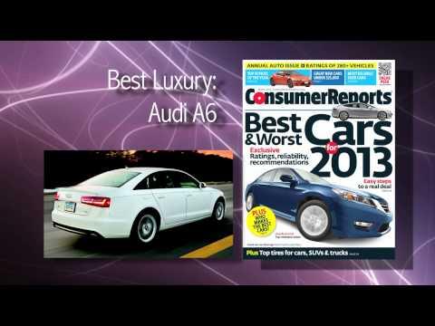 Consumer Reports' 2013 Top Picks Report