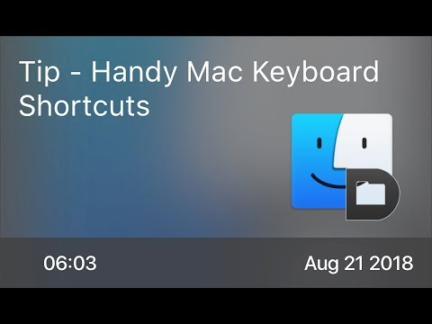 SCOM0762 - Tip - Handy Mac Keyboard Shortcuts