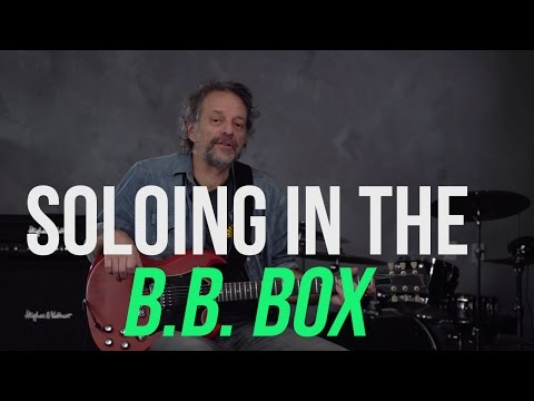 How to Sound like B.B. King - The B.B. Box Lesson with Andy Aledort!