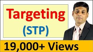 13. Targeting / Target Market Selection - OER Marketing Video Lecture by Prof. Vijay Prakash Anand