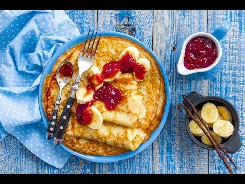 Simple pancake recipe without baking powder