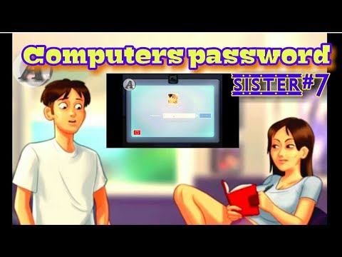 summertime saga  Sister Computer Password Quest completed#32