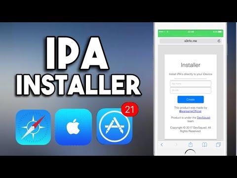 How to Install .iPA files on iPhone, iPad iOS 11 Jailbreak (No Cydia Impactor) (No Computer)