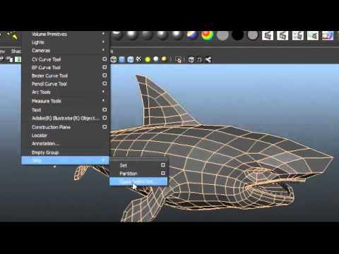 maya render smooth wireframe