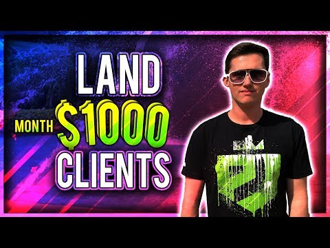 How To Make $1000 A Month (Landing A Client)