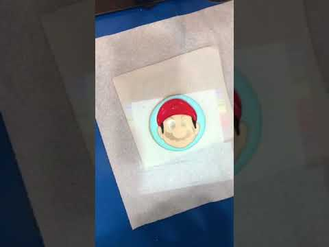 Mario sugar cookie ...