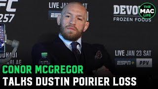 """Conor McGregor on UFC 257 loss: """"Fair f***ing play to Dustin Poirier … It's a b*****d of a game"""""""