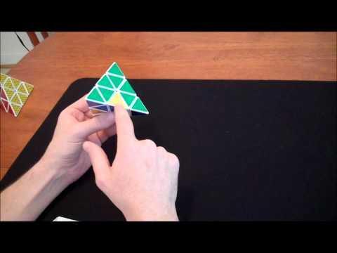 How to solve a Pyraminx (Steps 3 & 4)