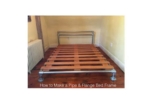 How to Make a Pipe & Flange Bed Frame