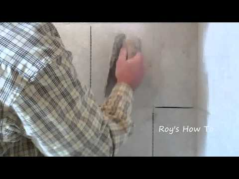 How To Grout Wall Tile In A Custom Tiled Shower