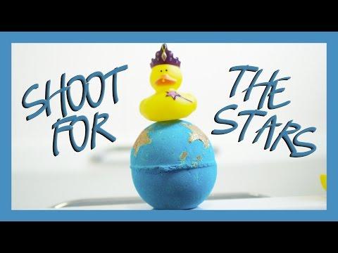 Shoot for the Stars Reinvented Bath Bomb Demo - Lush Christmas 2016!