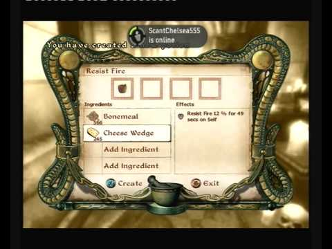 How to Get All Your Skills to 100 in Oblivion : Alchemy With Commentary