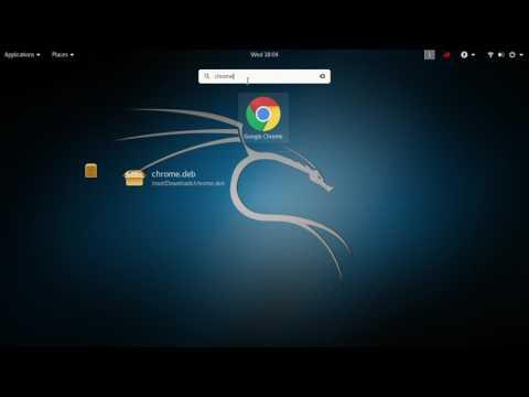 KALI LINUX - Cara Install dan Membuka Google Chrome Menggunakan Terminal