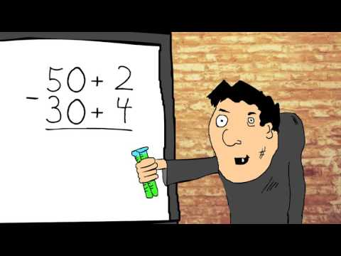 Subtraction -  Breaking apart by place value