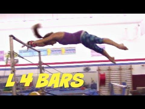 Gymnastics Level 4 Bar Routine With Coach Meggin!