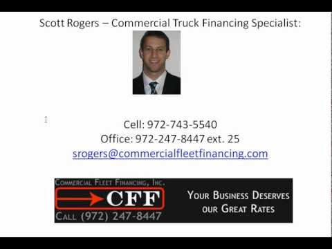 Semi Truck Financing For Good Credit Customers! LOW Rates and Monthly Payments For Semi Financing