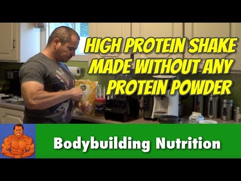 Home Made Protein Shakes Without Using Protein Powder