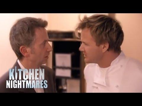 Gordon Fires Restaurant Manager - Kitchen Nightmares