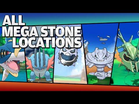 All Pokemon X / Y / OMEGA / ALPHA Mega Stones Locations [So Far]