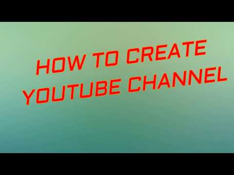 HOW TO CREATE YOUTUBE CHANNEL by My Rearch