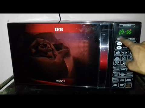 How to use IFB microwave 23BC4 full demo