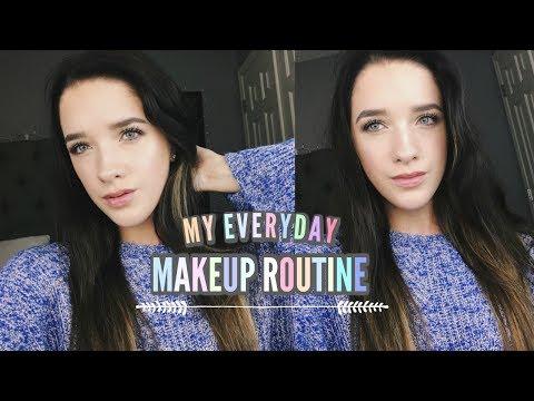 MY EVERYDAY MAKEUP ROUTINE | BriannaxBeautyx