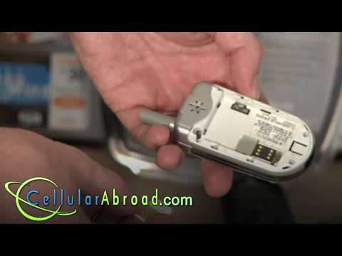 Cellular Abroad Rental Cell Phone - SIM Insertion Guide