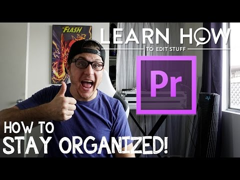 How To Organize For Post Production