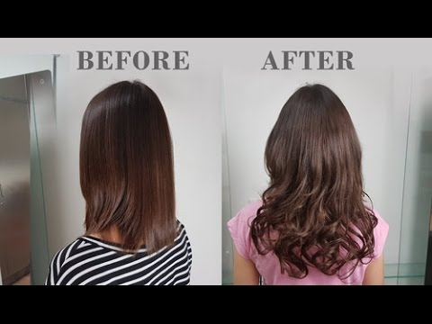 Hair Affair 8 Piece Clip-In Hair Extension Demo