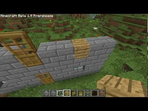 Minecraft Tutorials - Minecraft Tutorial #4 - How to Build a Stone Brick House with an Epic Garden 1/7 (HD)